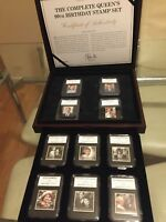 QUEEN'S 90th BIRTHDAY  STAMP SET 2016 Official Royal Mail Special Edition - Rare