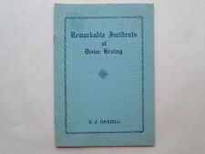 REMARKABLE INCIDENTS OF DIVINE HEALING by S. J. Grabill 1939 pb RARE BOOKLET