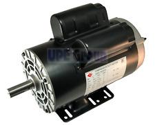 5 Hp Compressor Duty Electric Motor 1 Phase 3450 Rpm 56 Frame 78 Shaft 230v