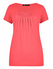 Marks and Spencer Women's No Pattern Scoop Neck Tops & Shirts