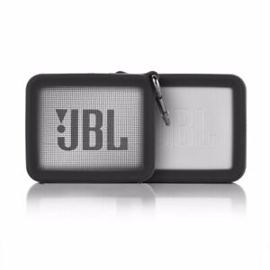 For Case JBL GO2 Bluetooth Speaker Silicone Portable Protect Storage+Metal Hook