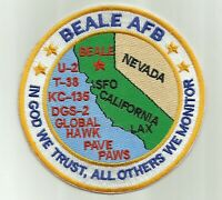 BEALE AFB, CALIFORNIA, IN GOD WE TRUST,ALL OTHERS WE MONITOR   Y