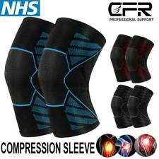 Knee Brace Compression Sleeve Support Squat Sports Joint Arthritis Pain Relief