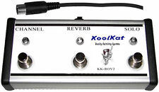 KoolKat's 3 Button Footswitch for Mesa Boogie RectoVerb series 2