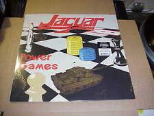 LP:  JAGUAR - Power Games NWOBHM BROWN GREEN VINYL REISSUE Ltd