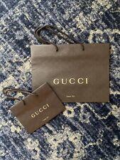 Gucci Store Paper Bag Set