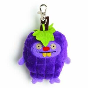 """Ugly Dolls Fruities 4"""" Plush Clip-On: Trunko Grape"""