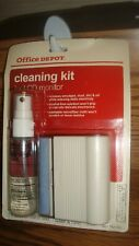 #4 Piece LCD MONITOR Cleaning Kit for LCD Monitor & TV Screens by Office Depot