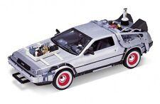 Welly Ritorno al Futuro 3 Delorean TIME MACHINE scala 1/24 modello Pressofuso Auto