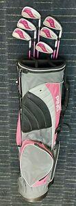 Wilson Ladies Iron Set Putter Ping Lite Bag Pink Hope Lady Clubs 5 6 7 8 9 P PW