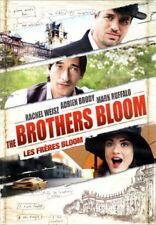 The Brothers Bloom (DVD, 2009) Adrien Brody, Mark Ruffalo, Rachel Weisz NEW