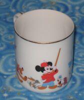Vintage Walt Disney Parks Exclusive Coffee Mug Tea Cup Mickey Donald Goofy More