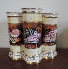 Minoprio Derby Porcelain Mantle Urn Vase Flight Barr Worcester Style Sea Shells