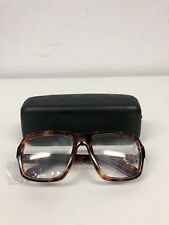 KIRK ORIGINALS BROWN TURTLE SHELL MONTE CARLO CLEAR LENS FRAME 260274
