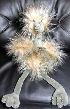 "20"" New Jellycat Odette Ostrich Mad Pets Plush Stuffed Animal"