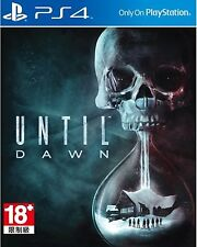 Until Dawn HK Chinese and English subtitle Version English voice PS4 NEW