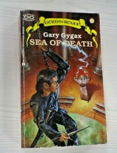 Sea of Death by Gary Gygax Paperback Book 'Gord The Rogue' series 1987 1st Edtn