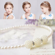 Kinder Perle Haarband Koreanisch Mode  Haar Ornaments Headdress Stirnband.