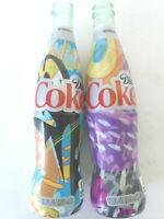 Lot of 2 -- Diet Coke Shrink Wrap 12oz Bottle Coca-Cola collection