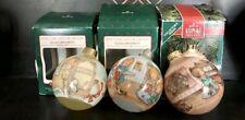 "3 Betsey Clark ""Home For Christmas� Hallmark Ornament-1987 2nd-1988 3rd-1990 5th"