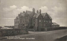 Castletown, Isle of Man. King William's College. The Junior House.