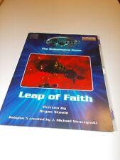 Babylon 5 RPG OGL - adventure Leap of Faith rare