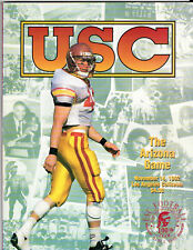 1992--USC TROJANS (ROB JOHNSON)  v. ARIZONA WILDCATS--FOOTBALL PROGRAM--NMT
