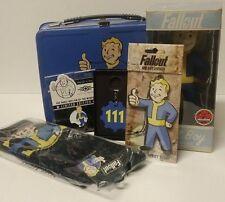 Fallout Vault Boy Lunch Box Bundle - Fallout Keychain Fallout Figure Fallout Pin