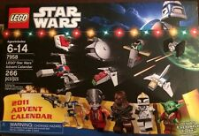 Lego Advent Calendar 7958 2011 Star Wars Santa Yoda New & Sealed Free US Ship
