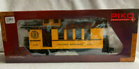 PIKO G SCALE D&RGW DROVERS CABOOSE 215, YELLOW | 38602 - NEVER DISPLAYED OR RUN