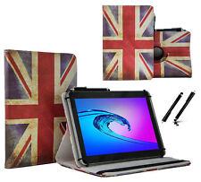 """Schutzhülle für DENVER TAQ-10243MK2 Tablet Case 10.1"""" 360 UK Flagge"""