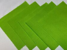 """40 5"""" Quilting Fabric Squares  PreCut Quilting Charm Pack Solid Apple Green"""