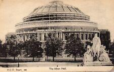 The Albert Hall - London - Original Vintage Postcard by FGO Stuart (120L)