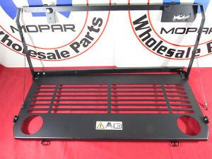 JEEP WRANGLER JL Rear Tailgate Mounted Table NEW OEM MOPAR