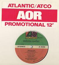 FROZEN GHOST Promises (1987 U.S. Double Side A Promo 12inch)