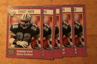 Emmitt Smith Si Kids 15th anniversary Lot of 5 cards