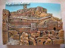 Persian Embossed Collectible Beautiful Fridge Magnet Arge Bam Kerman Iran Persia