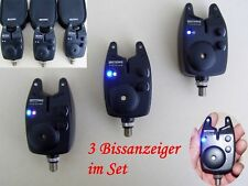 Elektronische Bissanzeiger 3 Stück The Carp Platoon