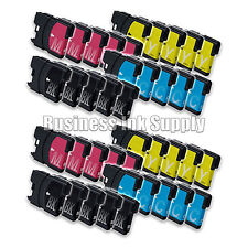 40 LC61 Ink Cartridges for Brother MFC-290C MFC-295CN MFC-J415W MFC-J670 MFC-490
