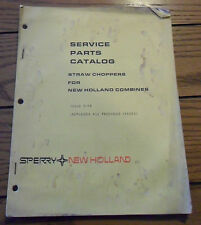 New Holland Service Parts Catalog Straw Choppers For New Holland Combines