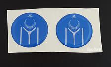 2x 3D Kayi Boyu Ertugrul Dirilis Decorative Sticker Turkey Gokturk Selcuklu