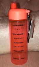 "Victoria's Secret Collegiate Water Bottle ""Feelin' Motivated"" 32 oz NWT"