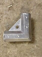 "Gate Corner Elbow Silver Aluminum 1 3/8"" Chain Link Fence Gate Hardware"