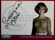UFO - SERIES #2 - GEORGINA MOON - VERY LIMITED Autograph Card GM1 - Black Ink