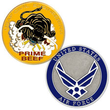 NEW USAF U.S. Air Force Civil Engineering AKA Prime Beef Challenge Coin
