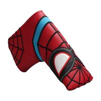 Spider Red Golf Blade Putter Cover Headcover For Odyssey Scotty