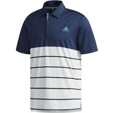 ADIDAS GOLF 2018 ULTIMATE 365 HEATHER BLOCK POLO SHIRT