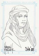 Stargate SG-1 Season 5 Warren Martineck Sha're Sketch Card