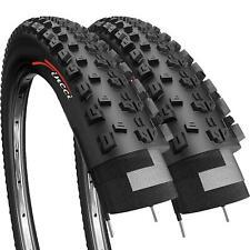 Fincci Pair 27.5 x 2.10 Foldable Tyre Mountain Offroad Bike Bicycle