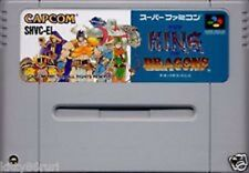 Super Famicom King of Dragons Japan SFC SNES